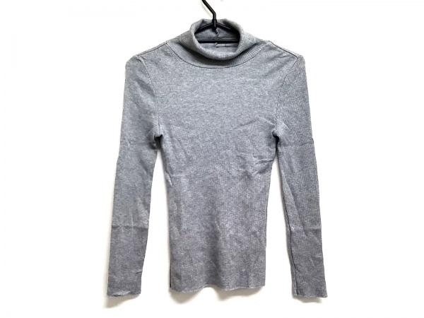 23区(ニジュウサンク) 長袖セーター サイズ32 XS レディース グレー タートルネック