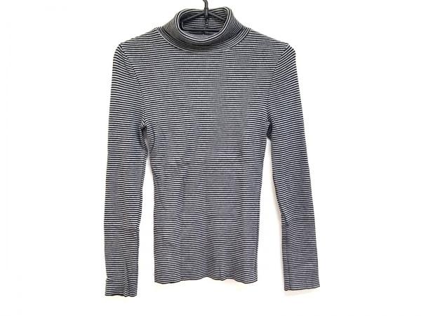 23区(ニジュウサンク) 長袖セーター サイズ32 XS レディース 黒×グレー ハイネック