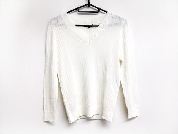 23区(ニジュウサンク) 長袖セーター サイズ32 XS レディース アイボリー