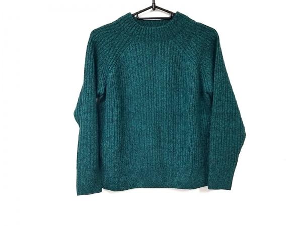 23区(ニジュウサンク) 長袖セーター サイズ32 XS レディース美品  グリーン×黒