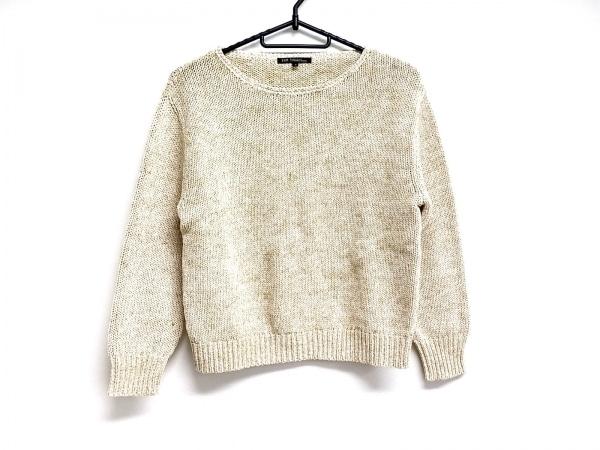 23区(ニジュウサンク) 長袖セーター サイズ32 XS レディース イエロー×アイボリー