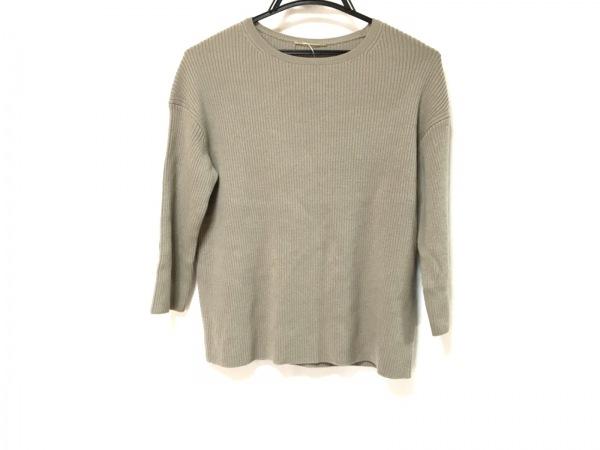 DEUXIEME CLASSE(ドゥーズィエム) 七分袖セーター レディース グレー