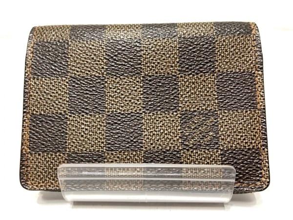 ルイヴィトン カードケース ダミエ アンヴェロップ・カルト ドゥ ヴィジット N62920
