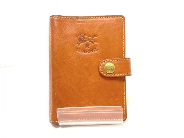 IL BISONTE(イルビゾンテ) 手帳 ブラウン レザー