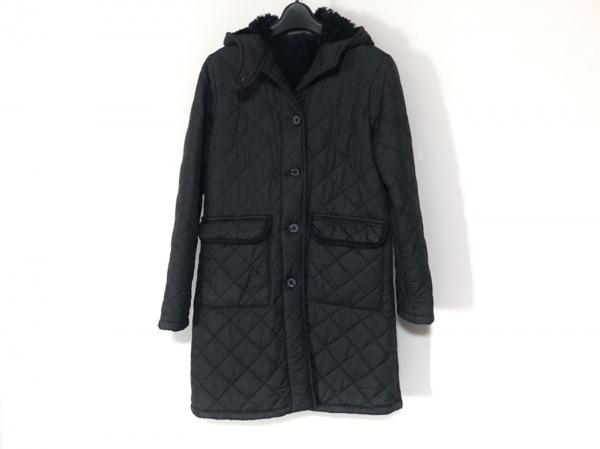 MACKINTOSH(マッキントッシュ) コート サイズ36 S レディース 黒 キルティング/冬物