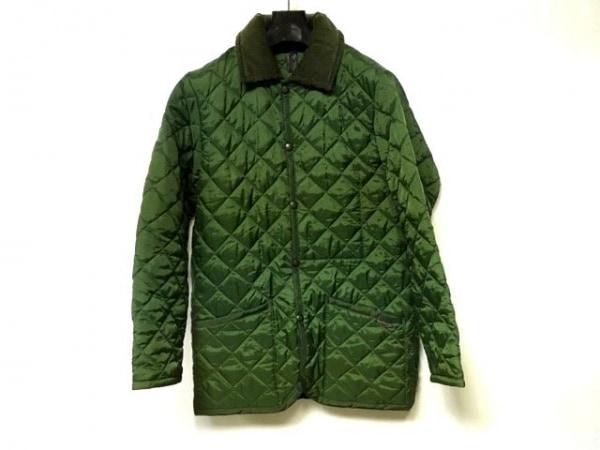 ラベンハム コート サイズ34 S レディース美品  ダークグリーン 冬物/キルティング