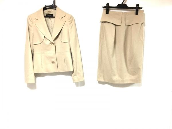 EPOCA(エポカ) スカートスーツ サイズ40 M レディース ベージュ