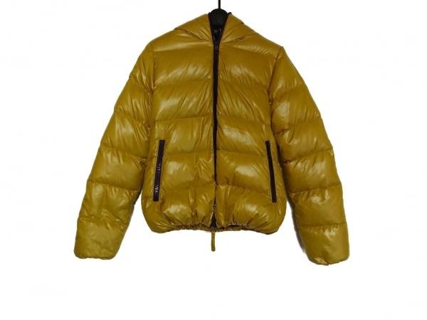 デュベティカ ダウンジャケット サイズ44 L レディース美品  Thia イエロー 冬物