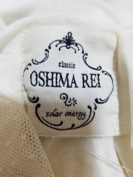 OSHIMA REI(オオシマ レイ) チュニック レディース美品  アイボリー 4