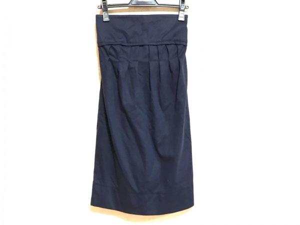 ステラマッカートニー ロングスカート サイズ36 M レディース美品  ネイビー