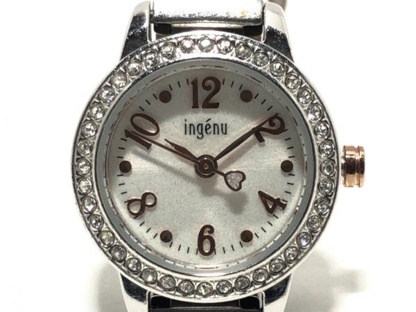 ALBA(アルバ) 腕時計 1N01-K974 レディース ラインストーン 白