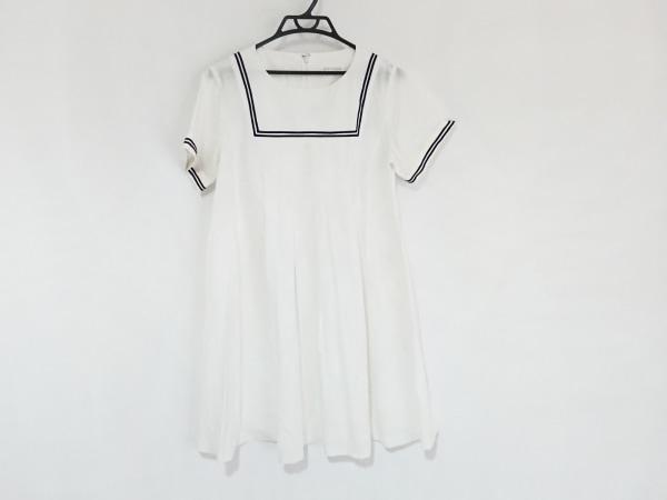 Jane Marple(ジェーンマープル) ワンピース サイズM レディース 白×黒
