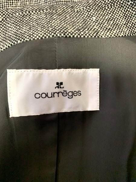 COURREGES(クレージュ) スカートスーツ サイズ40 M レディース美品 3