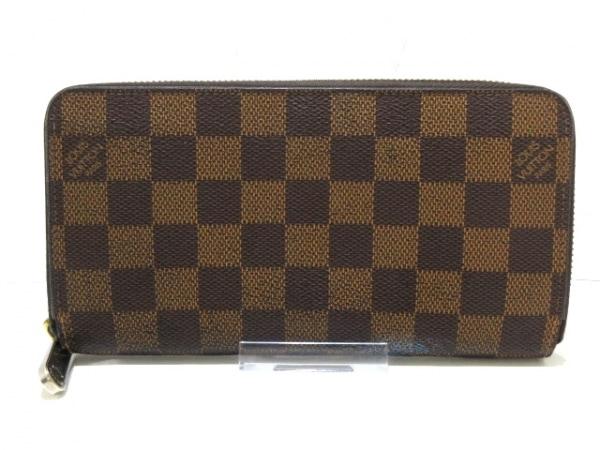 ルイヴィトン 長財布 ダミエ ジッピー・ウォレット N60015 エベヌ 1