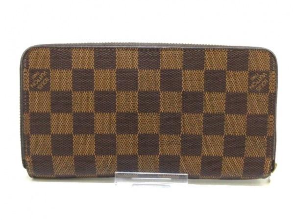 ルイヴィトン 長財布 ダミエ ジッピー・ウォレット N60015 エベヌ 2