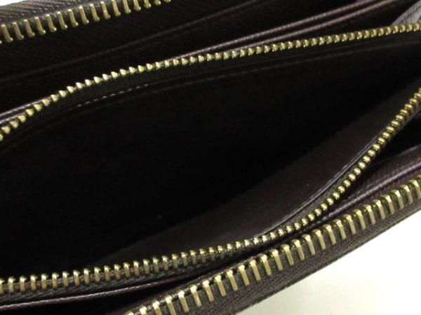 ルイヴィトン 長財布 ダミエ ジッピー・ウォレット N60015 エベヌ 4