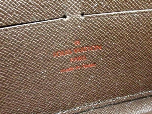ルイヴィトン 長財布 ダミエ ジッピー・ウォレット N60015 エベヌ 5