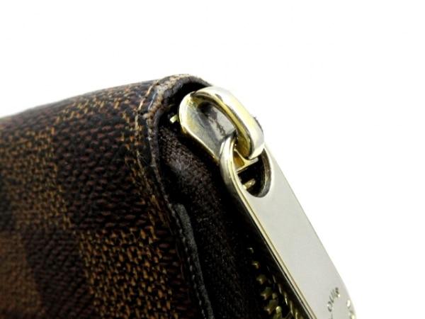 ルイヴィトン 長財布 ダミエ ジッピー・ウォレット N60015 エベヌ 9