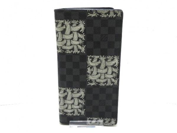 ルイヴィトン 長財布 ダミエグラフィット N61211 ダミエ・グラフィット キャンバス