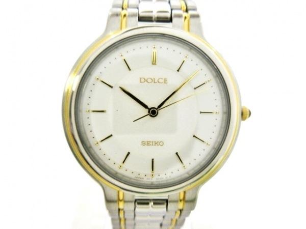 SEIKO(セイコー) 腕時計新品同様  DOLCE 5E31-6D00 ボーイズ 白