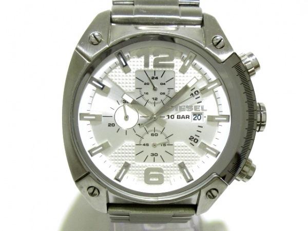 ディーゼル 腕時計 DZ-4203 メンズ トリプルカレンダー シルバー 1