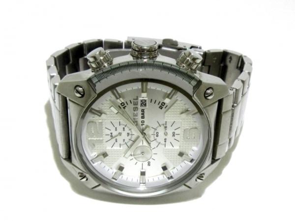 ディーゼル 腕時計 DZ-4203 メンズ トリプルカレンダー シルバー 2