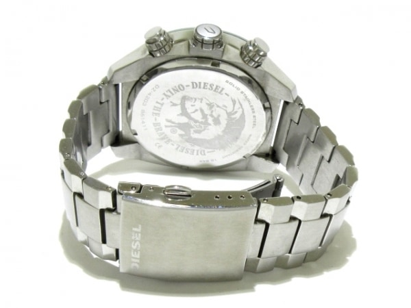 ディーゼル 腕時計 DZ-4203 メンズ トリプルカレンダー シルバー 3