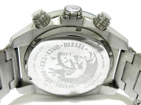 ディーゼル 腕時計 DZ-4203 メンズ トリプルカレンダー シルバー 4