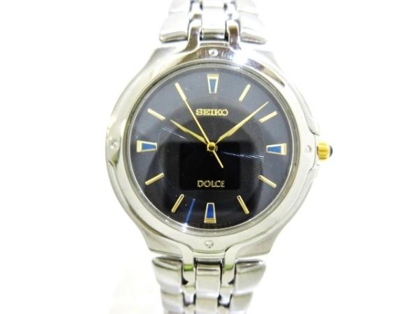 SEIKO(セイコー) 腕時計美品  DOLCE 5E31-6010 ボーイズ ダークネイビー