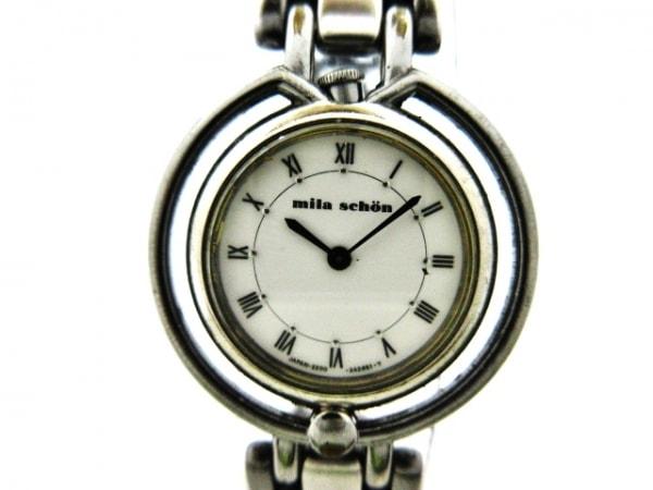 mila schon(ミラショーン) 腕時計 2200-229720Y レディース 白