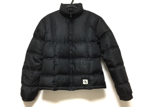 CalvinKlein(カルバンクライン) ダウンジャケット サイズS レディース 黒 冬物