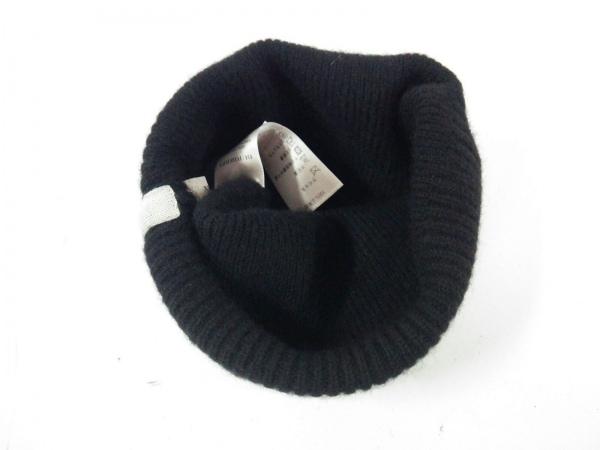 Burberry(バーバリー) ニット帽 黒 カシミヤ 3