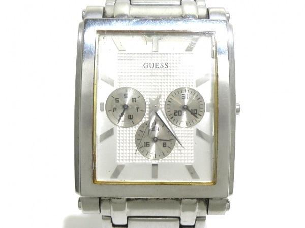 GUESS(ゲス) 腕時計 メンズ シルバー