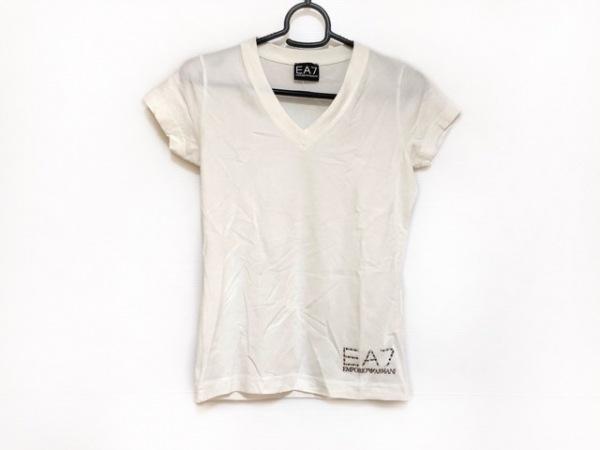 EMPORIOARMANI(エンポリオアルマーニ) 半袖Tシャツ サイズXXS XS レディース美品  白