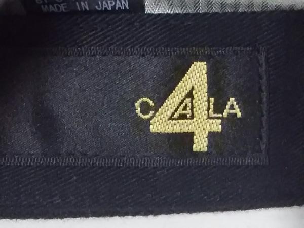 CA4LA(カシラ) キャップ 黒 コットン×ウール 5