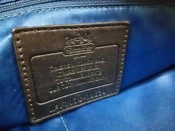 COACH(コーチ) ハンドバッグ 18634 黒 70周年アニバーサリーモデル 6