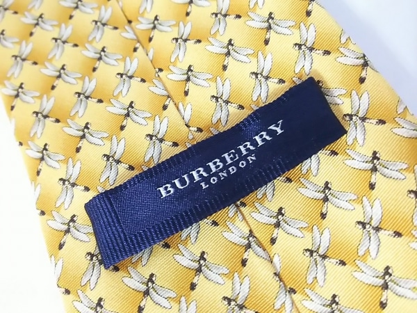 Burberry LONDON(バーバリーロンドン) ネクタイ メンズ美品  トンボ 3