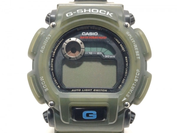 CASIO(カシオ) 腕時計 G-SHOCK DW-9000 メンズ ダークグレー×黒