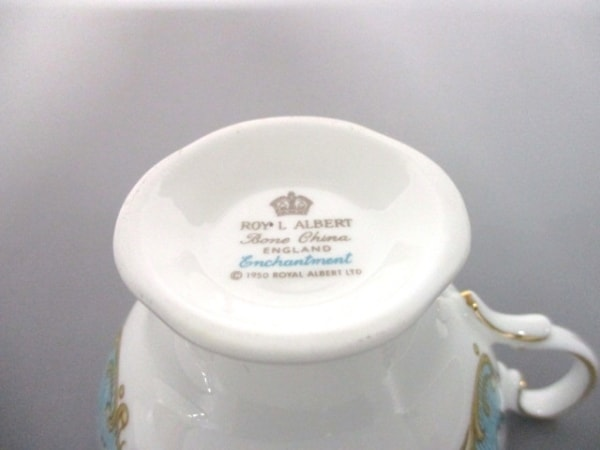 ROYAL ALBERT(ロイヤルアルバート) カップ&ソーサー新品同様  陶器 4