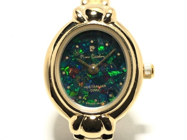 pierre cardin(ピエールカルダン) 腕時計 レディース グリーン