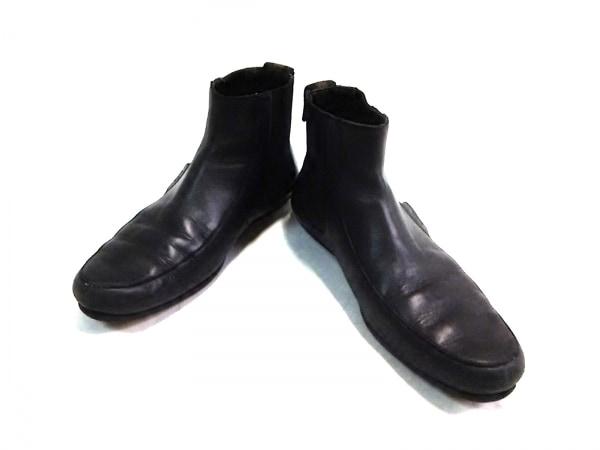 GUCCI(グッチ) ショートブーツ 40 1/2 E メンズ 黒 レザー 1