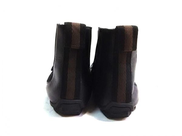 GUCCI(グッチ) ショートブーツ 40 1/2 E メンズ 黒 レザー 3