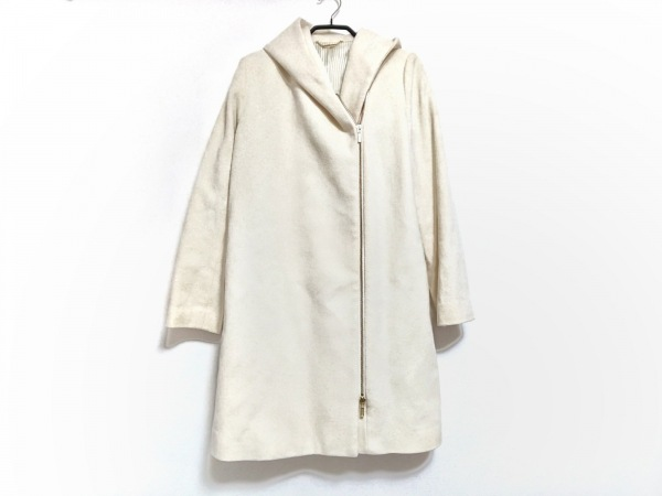 Loungedress(ラウンジドレス) コート サイズF レディース アイボリー 冬物