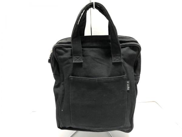 agnes b(アニエスベー) ハンドバッグ 黒 キャンバス