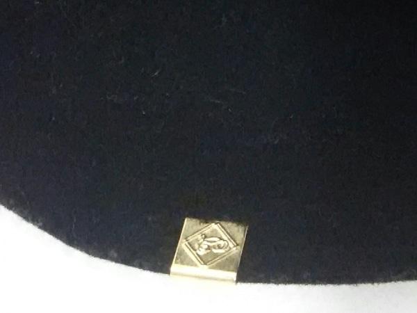 CA4LA(カシラ) ハット M 黒 ウール×ラビット 7