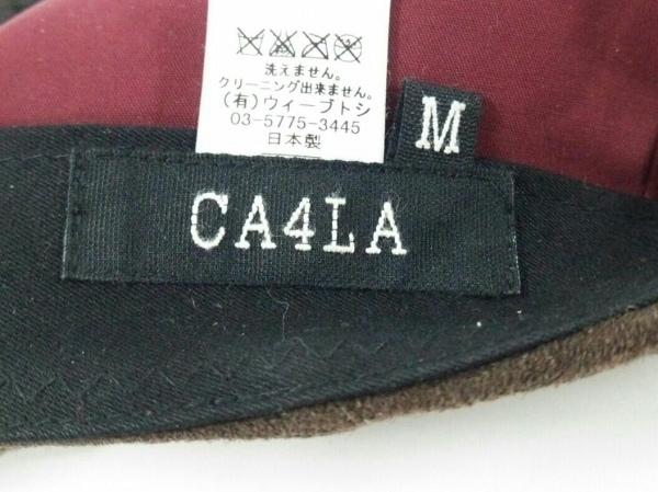 CA4LA(カシラ) ハンチング M - ダークブラウン スエード 5