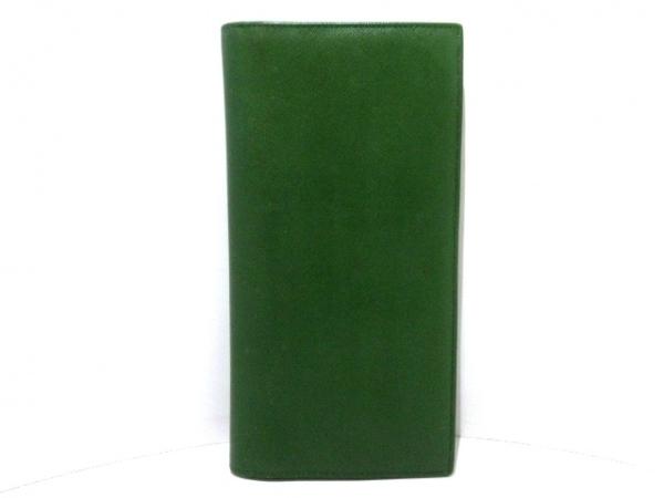PRADA(プラダ) 長財布 - 1M1302 グリーン レザー 1