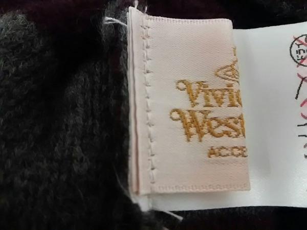 ヴィヴィアンウエストウッドアクセサリーズ ニット帽 ウール 4