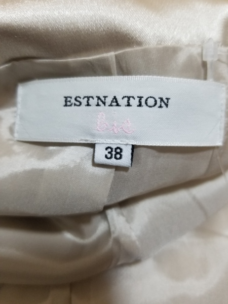 エストネーション コート サイズ38 M レディース美品  ピンク 3