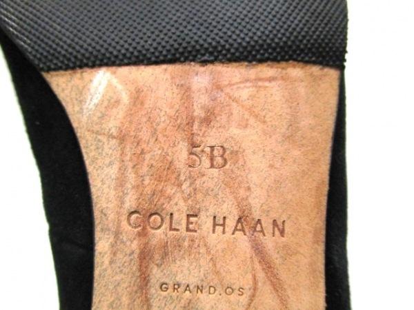 COLE HAAN(コールハーン) パンプス 5 B レディース 黒 スエード 6